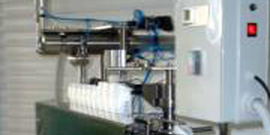 Dosing machine for liquid